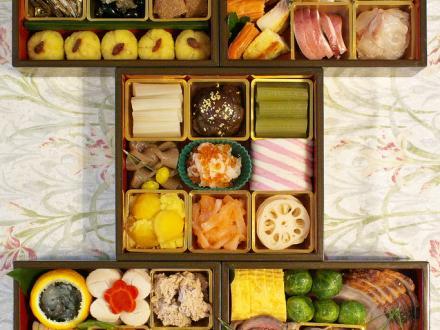 | 我が家のおせち 2011 menu | суши, роллы, сашими