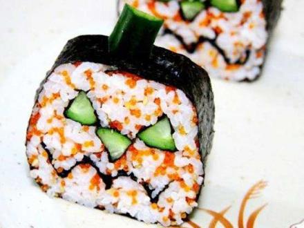 суши на хэллоуин :) | Фото-3873 | суши, роллы, сашими