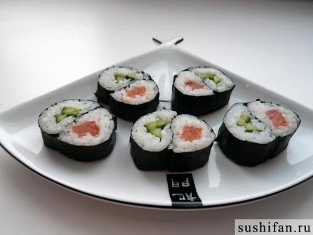роллы инь янь | Фото-3180 | суши, роллы, сашими