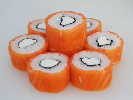 филадельфия от 1/6 суши | Фото-3182 | суши, роллы, сашими
