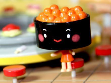 игрушки суши (гункан икура) | Фото-3183 | суши, роллы, сашими