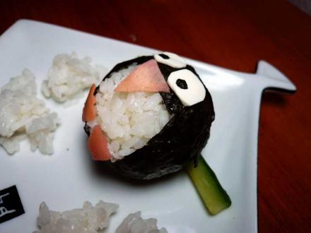 это мои суши-пингвины | Суши пингвины | суши, роллы, сашими