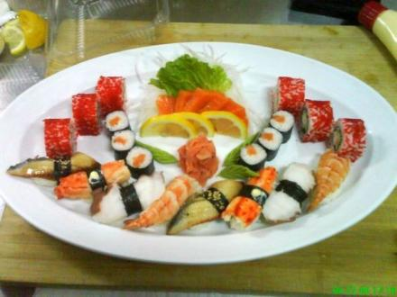 Sashimi, kaliforniya, unagi,ebi i t .d. | Sushi vertuoz 2009 | суши, роллы, сашими