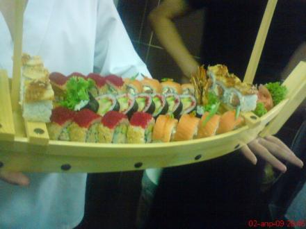 assorti na korable | Sushi vertuoz 2009 na korable | суши, роллы, сашими
