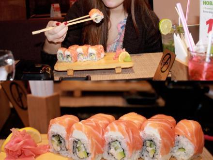 в Васаби на ст. м. Восстания | я :) | суши, роллы, сашими