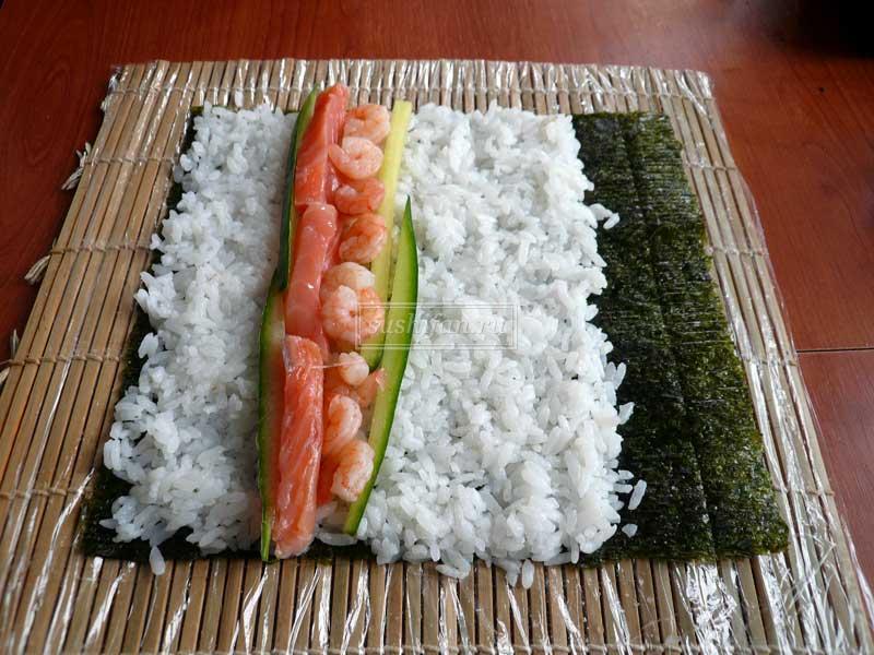Суши роллы в домашних условиях рецепты с фото пошагово