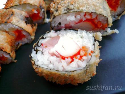 горячие роллы | суши, роллы, сашими