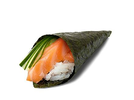 Сяке темаки | суши, роллы, сашими