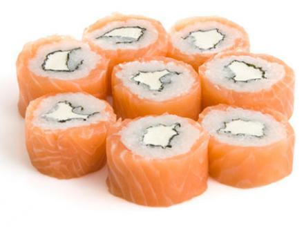 "Ролл ""Филадельфия"" (классика) | суши, роллы, сашими"