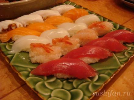 ика суши, тако суши, сяке суши, магуро суши, эби суши | суши, роллы, сашими
