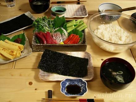 ингредиенты | суши, роллы, сашими
