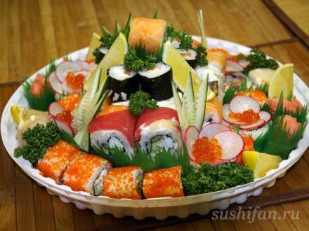 Cуши торт от Сушишеф | суши, роллы, сашими