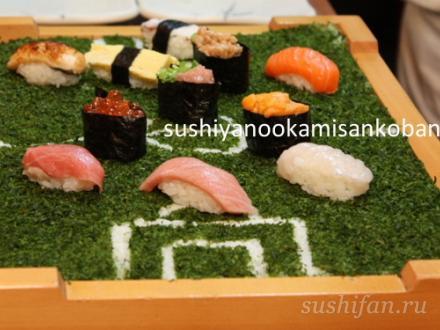 суши футбол | суши, роллы, сашими