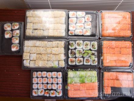 Суши-пикник на день рождения | суши, роллы, сашими