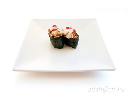 Гункан тори унаги | суши, роллы, сашими