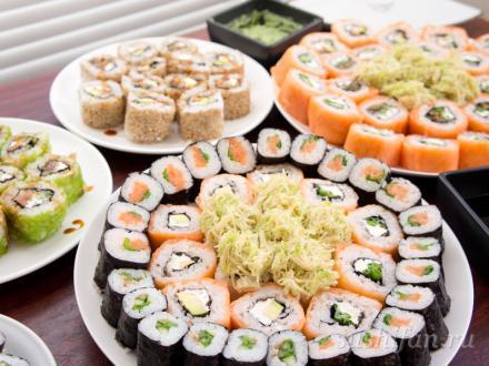 Очередные суши посиделки с друзьями | суши, роллы, сашими