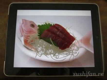 Суши и IPad, что общего? | суши, роллы, сашими