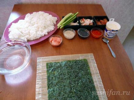 Суши и роллы. Готовим дома | суши, роллы, сашими