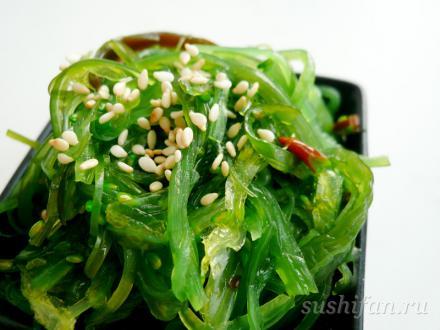 Салат чука  | суши, роллы, сашими