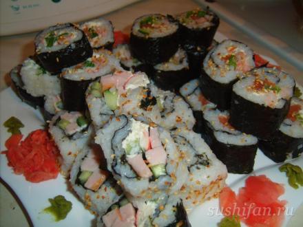Моё творение :) | суши, роллы, сашими