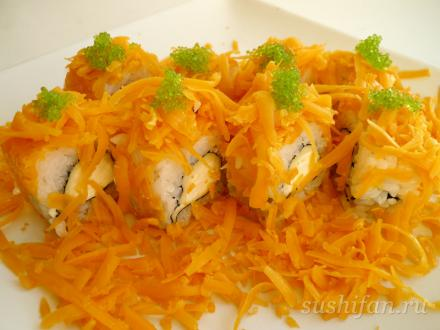 "Ролл ""Три сыра"" | суши, роллы, сашими"