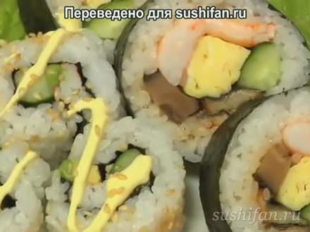 Роллы (маки суши) по-японски | суши, роллы, сашими