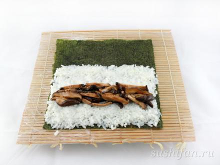 шиитаке для роллов | суши, роллы, сашими