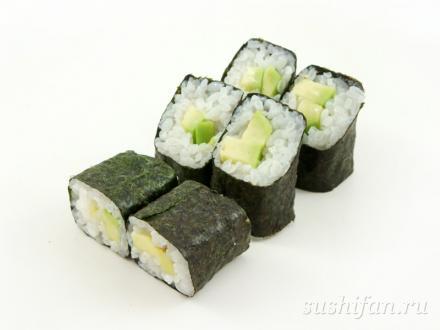 Авокадо ролл | суши, роллы, сашими