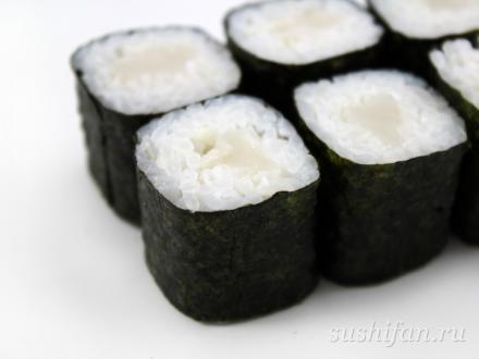 Ролл с морским гребешком | суши, роллы, сашими