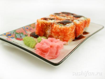 Ролл с угрем и сливочным сыром | суши, роллы, сашими