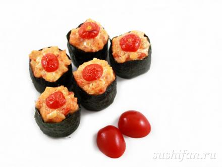 "Горячие суши ""Кардинал Ришелье"" | суши, роллы, сашими"