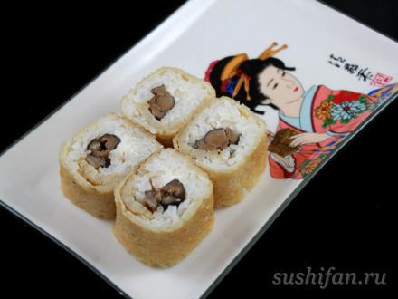 Ролл с курицей | суши, роллы, сашими