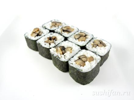 Шиитаке маки | суши, роллы, сашими