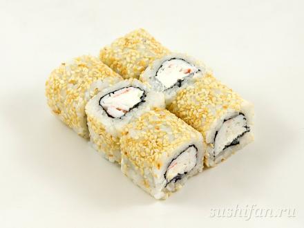 "Ролл ""Снежный краб"" | суши, роллы, сашими"