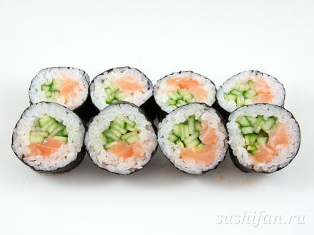Большие сяке маки | суши, роллы, сашими