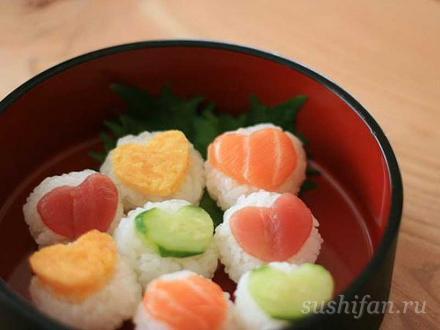 темари суши с любовью :) | суши, роллы, сашими
