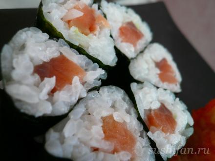 сяке маки | суши, роллы, сашими