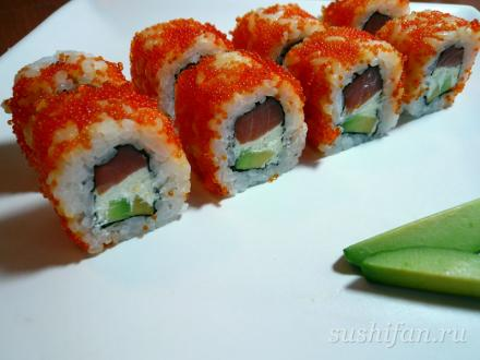 "Ролл ""Венеция RED"". Красиво и вкусно.   суши, роллы, сашими"