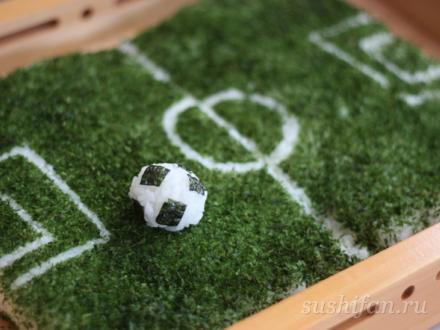 Футбол и суши | суши, роллы, сашими