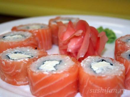 Филадельфия от Суши Экспресс   суши, роллы, сашими