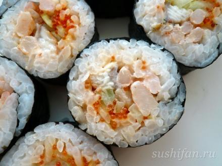 Спайс ролл | суши, роллы, сашими