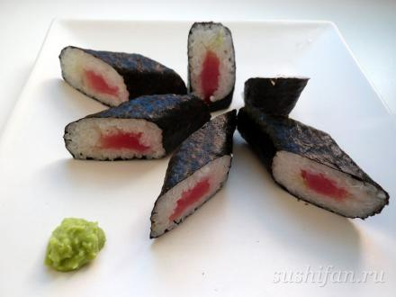 Роллы с тунцом | суши, роллы, сашими