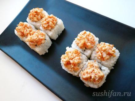 Сурими лава маки | суши, роллы, сашими