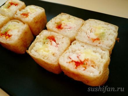 Жареные роллы | суши, роллы, сашими