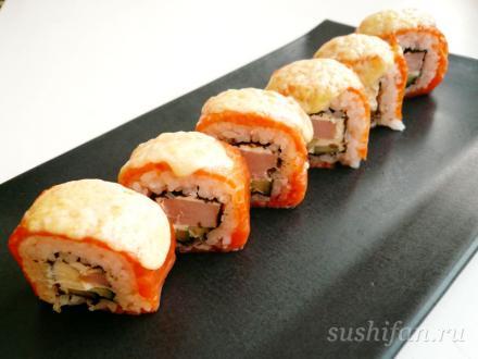 Горячий ролл | суши, роллы, сашими