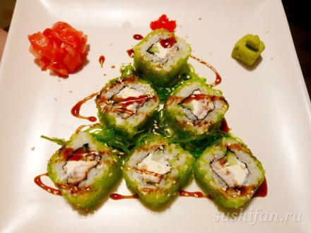 "Новогодний ролл ""Елочка"" | суши, роллы, сашими"