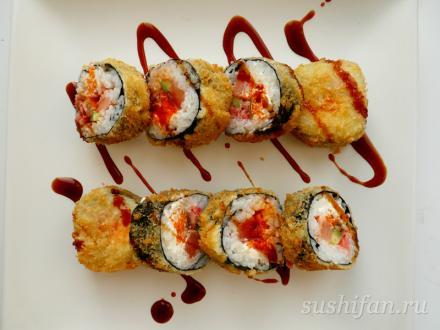 Темпура ролл | суши, роллы, сашими
