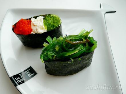 гунканы | суши, роллы, сашими