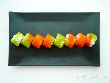 Ролл масатоби | суши, роллы, сашими