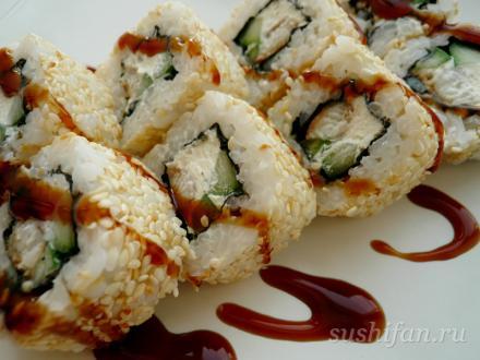 Ролл с угрем | суши, роллы, сашими